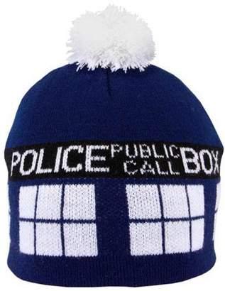 Elope Doctor Who Tardis Pom Beanie Hat