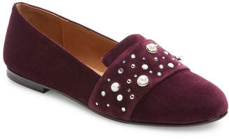 French Sole Lapis Leather Loafer