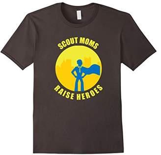 Scout Moms Raise Heroes T-Shirt
