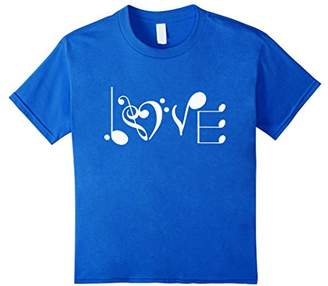 Music LOVE Notes Clef Musician T Shirt Major
