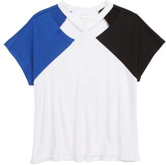 Zella Colorblock Tee
