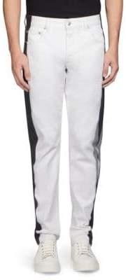 Alexander McQueen Stripe Buttoned Pants