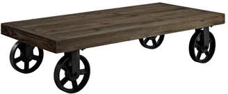 Modway Garrison Pine Wood Top Coffee Table