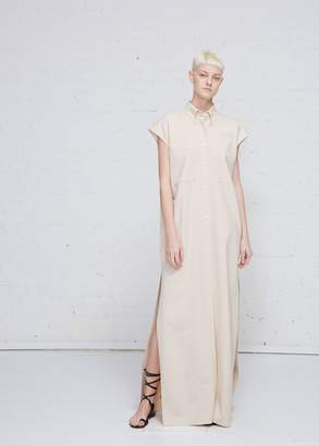 Kwaidan Editions Sleeveless Maxi Shirt Dress