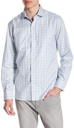 James Tattersall Classic Fit Print Sport Shirt