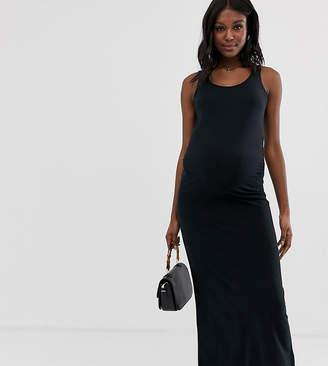 ad724a0f7c3 Mama Licious Mama.Licious Mamalicious maternity organic cotton jersey maxi  dress