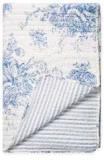 Melange Home Printed Reversible Cotton Quilt