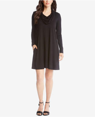 Karen Kane Chloe Cowl-Neck Dress