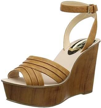 1af2656f906b Miss Selfridge Women s Wedge Ankle Strap Sandals 39 EU