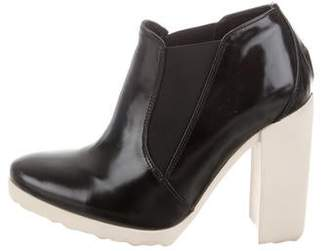 Pierre Hardy Pointed-Toe Ankle Boots