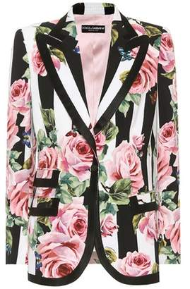 Dolce & Gabbana Floral-printed blazer