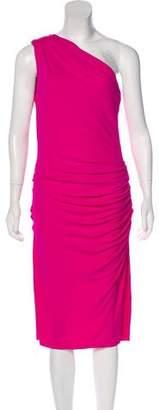 Michael Kors One-Shoulder Midi Dress w/ Tags
