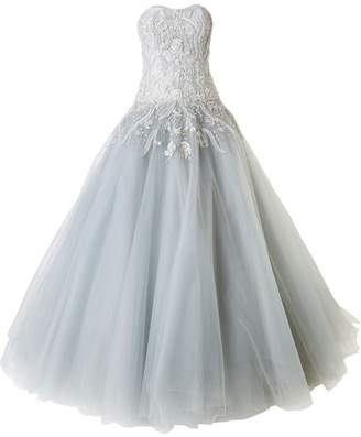 Marchesa strapless tulle ball gown