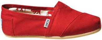 Toms Alpargata 001001B07 Red Canvas Sneaker