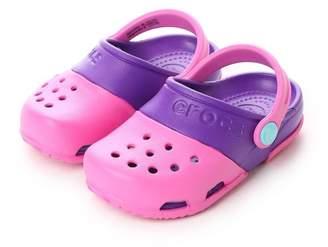 Crocs (クロックス) - LOCONDO クロックス crocs ジュニアサンダル Electro 2.0 Clog Party Pink/Neon Purple C10 15608-6CP-C10 (
