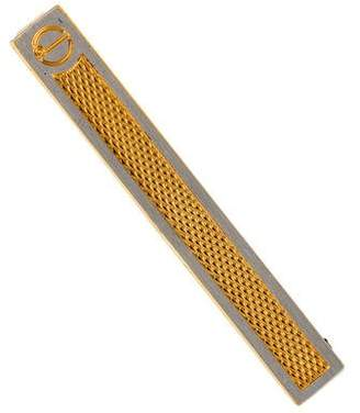 Dunhill Two-Tone Tie Clip