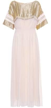 Chloé Silk-blend dress