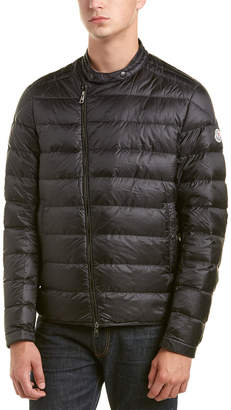 Moncler Crio Quilted Down Biker Jacket