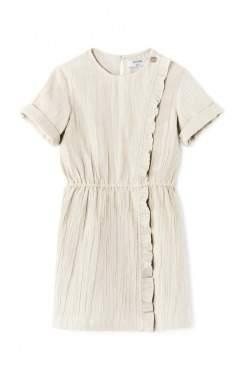 Polder Sale - Dune Ruffled Button Dress Girl
