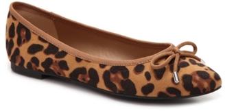 Zigi Soho Tashia Leopard Ballet Flat $60 thestylecure.com