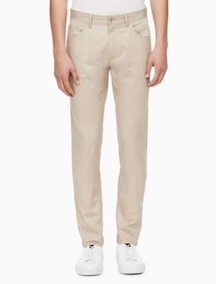 Calvin Klein x-fit ultra slim fit micro herringbone pants