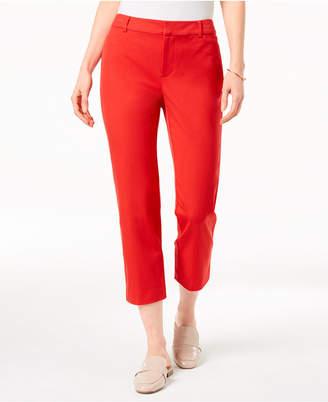 Charter Club Newport Slim Leg Cropped Pants, Created for Macy's