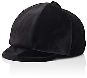 Jennifer Ouellette Women's Velvet Baseball Cap-Black