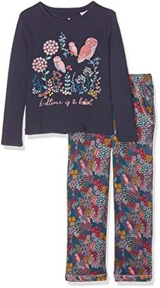 Fat Face Girl's Bedtime is A Hoot Jersey Pyjama Sets