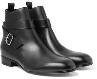 Balenciaga Leather Jodhpur Boots