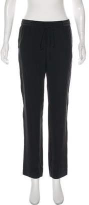 Robert Rodriguez Silk Mid-Rise Pants w/ Tags