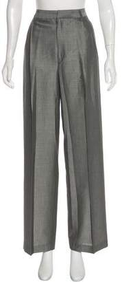 Ellen Tracy Linda Allard High-Rise Wide-Leg Pants