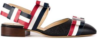Thom Browne signature stripes pointed sandals