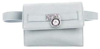 MICHAEL Michael Kors Textured Leather Waist Bag