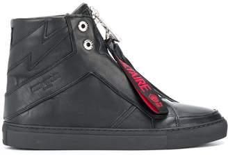 Zadig & Voltaire Zadig&Voltaire high zip sneakers