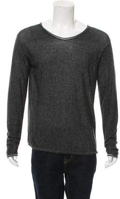 Alexander Wang Long Sleeve Crew Neck T-Shirt