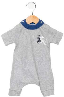 Burberry Boys' Short Sleeve All-In-One