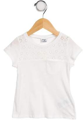 Mayoral Girls' Embroidered Top w/ Tags