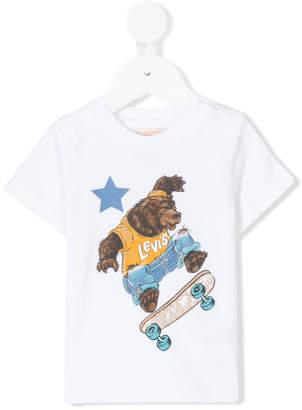 Levi's Kids skater bear T-shirt