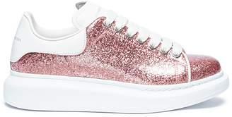 Alexander McQueen 'Larry' chunky outsole glitter sneakers