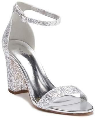 Madden-Girl Beelaa Glitter Ankle Strap Sandal