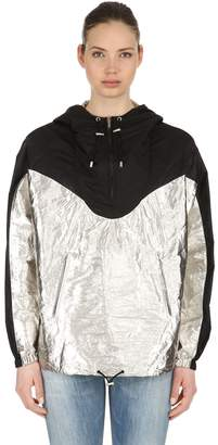 Isabel Marant Color Block Metallic Nylon Anorak