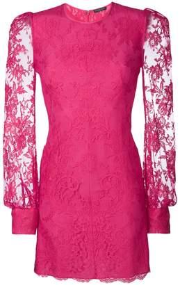 Alexander McQueen lace mini dress