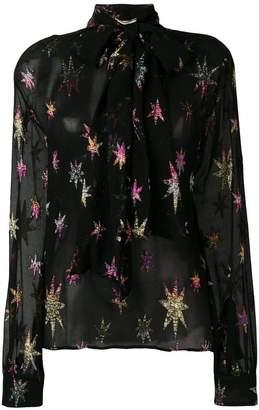 Saint Laurent mao collar blouse