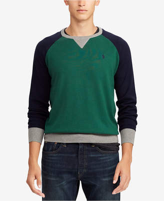 Polo Ralph Lauren Men's Big & Tall Colorblocked Sweater