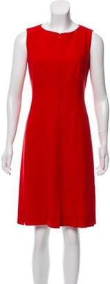 Akris Wool Knee-Length Dress