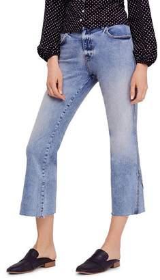 Free People Rita Crop Flare Jeans in Blue