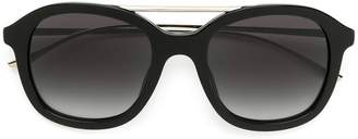 HUGO BOSS square aviator sunglasses