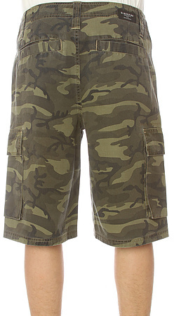 Camo Classified The Cargo Shorts in Washed