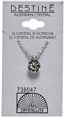 Crystallite Destine Crystal Diamond Cut 8mm Necklace