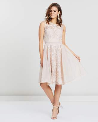 Thalia Fit-And-Flare Dress